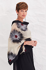 Natalie Wrap by Elizabeth Rubidge  (Silk and Wool Wrap)