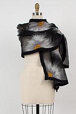 Natalie Wrap by Elizabeth Rubidge  (Silk and Wool Wrap)