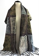 Ashley Wrap by Elizabeth Rubidge  (Silk & Wool Wrap)