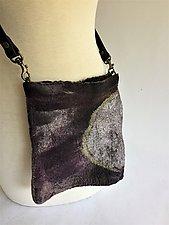 Rita Mini Bag by Elizabeth Rubidge  (Silk and Wool Felted Bag)