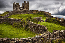 Hilltop Ruin by Pamela Viola (Color Photograph)