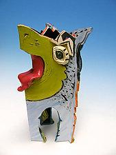 Peaceful Cohabit by Amy Goldstein-Rice (Ceramic Vase)