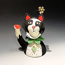 Love with Grace by Amy Goldstein-Rice (Ceramic Sculpture)