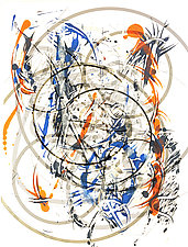 Circle Art by Marc Garrison (Mixed Media)