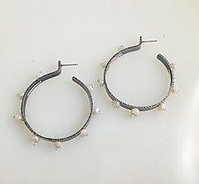 Burst Earrings by Erica Stankwytch Bailey (Silver & Stone Earrings)