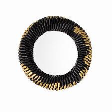 Gold Leaf Solido Bracelet by Francesca Vitali (Paper Bracelet)