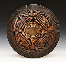Burmese Shield by Ronald Artman (Ceramic Sculpture)