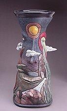 Head Vessel by David Stabley (Ceramic Sculpture)