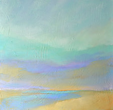 Sea and Sand by Filomena Booth (Acrylic Painting)
