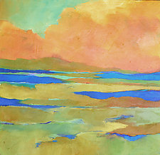 Apricot Morn by Filomena Booth (Acrylic Painting)