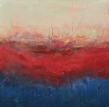 Fire in the Sky by Filomena Booth (Acrylic Painting)