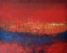 Crimson Sky by Filomena Booth (Acrylic Painting)