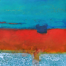 Sand and Sea III by Filomena Booth (Acrylic Painting)