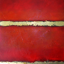 Rojo y Oro by Filomena Booth (Acrylic Painting)
