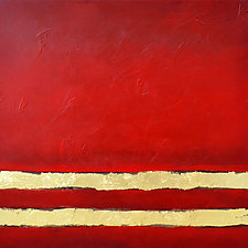 Red Dawn by Filomena Booth (Acrylic Painting)