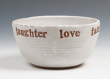 Celebration Bowl by Louise Bilodeau (Ceramic Bowl)