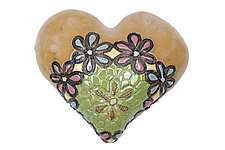 Bleita's Ballerinas by Laurie Pollpeter Eskenazi (Ceramic Wall Sculpture)