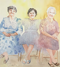 Satisfaction by Terrece Beesley (Watercolor Painting)