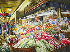 Locally Grown by Terrece Beesley (Watercolor Painting)