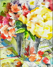 Perennial Favorites by Terrece Beesley (Watercolor Painting)