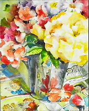 Perennial Favorites by Terrece Beesley (Watercolor Painting)