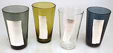 Leafed Tumblers by David Royce (Art Glass Tumblers)