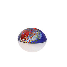 Skipping Stones by David Royce (Art Glass Paperweight)