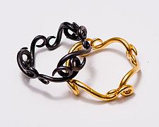 Swirl Bracelet by Shana Kroiz (Gold & Silver Bracelets)