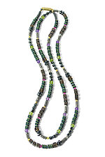 Multi Stone and Hematite Necklace by Judy Bliss (Stone Necklace)