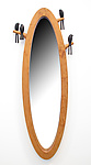 Birdie Mirror by Sylvie Rosenthal (Wood Mirror)