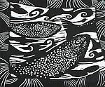 Oregon II by Midge Black (Linocut Print)