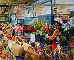 Pike Place Market by Terrece Beesley (Giclee Print)