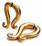 Medium Swirl Earrings by Shana Kroiz (Metal Earrings)