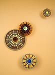 Tuscan Mosaic by Janine Sopp and Barbara Galazzo (Art Glass & Ceramic Wall Sculpture)