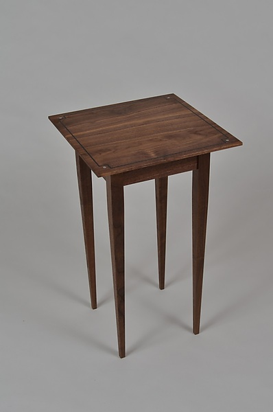 Walnut Side Table I