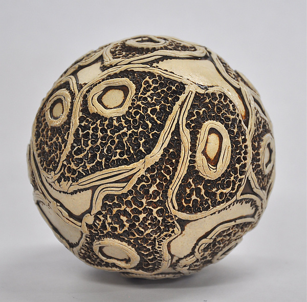 Large Ceramic Ball Rattle #2