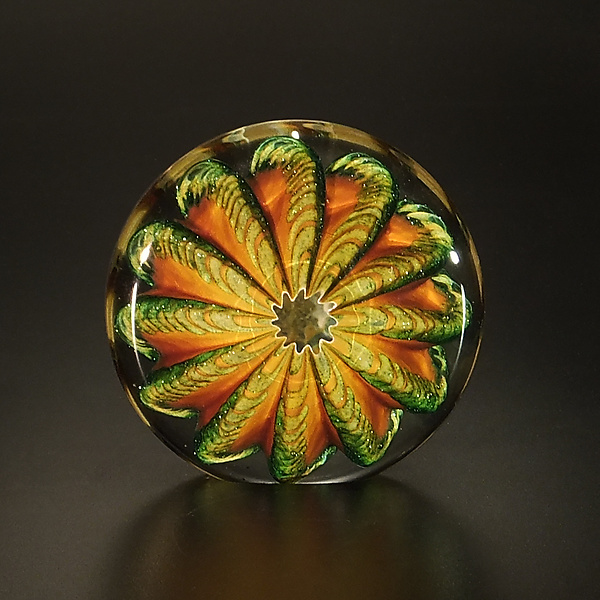 Topaz and Aventurine Paperweight