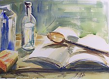 Ready to Cook by Alix Travis (Watercolor Painting)