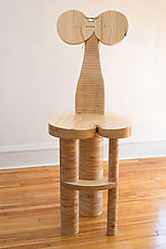 Dolores by Nathalie Guez (Wood Chair)