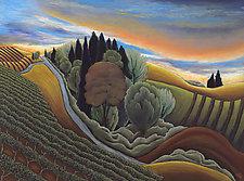 Earth and Sky by Jane Aukshunas (Giclee Print)