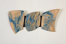 The Blues by Kristi Sloniger (Ceramic Wall Sculpture)