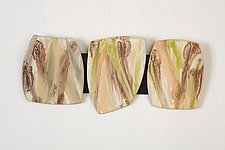 Woodland Colors by Kristi Sloniger (Ceramic Wall Sculpture)