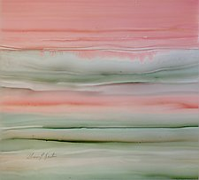 Pink Sunset by Maureen Kerstein (Watercolor Painting)