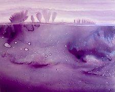 Observation II by Maureen Kerstein (Watercolor Painting)