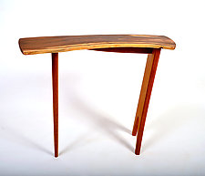 Cocobolo Console by Karel Aelterman (Wood Console Table)