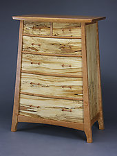 Concentric Dresser #3 by Steven M. White (Wood Dresser)