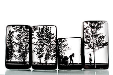 Photographer by Nick Chase (Art Glass Sculpture)