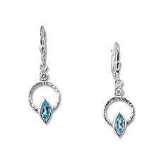 Silver Q Earrings by Suzanne Q Evon (Silver & Stone Earrings)