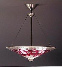 Bramble Pendant Lamp by George Scott (Art Glass Pendant Lamp)