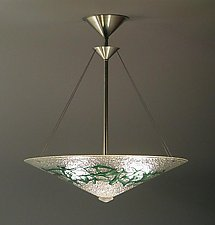 Bramble Pendant Lamp by George Scott (Art Glass Pendant Lamp)